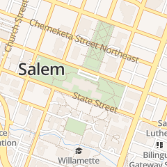 Directions for Cafe Today at the Oregon State Capitol in Salem, OR 900 Court St NE