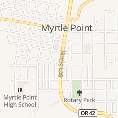 Directions for A & W Restaurant in Myrtle Point, OR 530 8th St