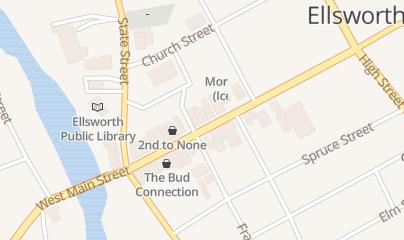 Directions for J & B Atlantic CO in Ellsworth, ME 142 Main St