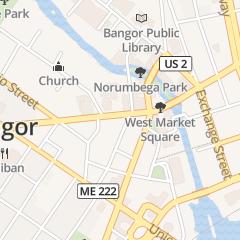 Directions for DUANE MORRIS in BANGOR, me 88 HAMMOND ST