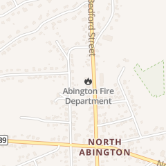 Directions for Town of Abington in Abington, MA 1040 Bedford St