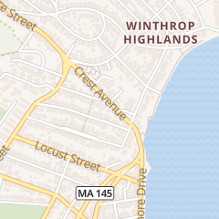 Directions for Highland Real Estate in Winthrop, MA 75 Crest Ave