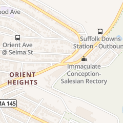 Directions for Orient Heights Chiropractic Office in Boston, MA 1214 Bennington St
