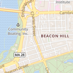 Directions for Pickney Nail in Boston, MA 91 Charles St Ste B