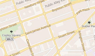 Directions for Tillingers Concierge & Special Evnt Prod in Boston, MA 200 Berkeley St Ste 1