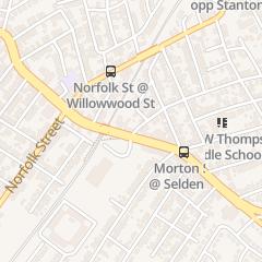 Directions for Mortons Pizza in Mattapan, MA 896 Morton St