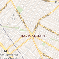 Directions for The Square Nail Studio in Somerville, MA 11 Holland St