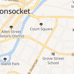 Directions for Cool Corner Creamery in Woonsocket, RI 171 Greene St