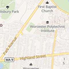 Directions for Worcester Polytechnic Institute - Human Resources in Worcester, MA 100 Institute Rd