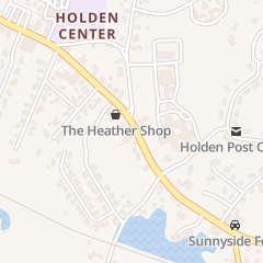 Directions for Sherri's Designs in Holden, MA 1085 Main St