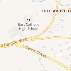 Directions for East Catholic High School - Athletic Department in Manchester, CT 115 New State Rd