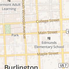 Directions for O'BRIEN'S SALON MD in BURLINGTON, VT 247 MAIN ST