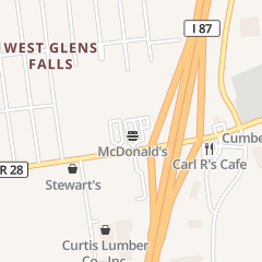 Directions for Mcdonald's Restaurant in Queensbury, NY 192 Corinth Rd