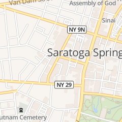 Directions for Saratoga Convention Bureau in Saratoga Springs, NY 60 Railroad Pl Ste 301