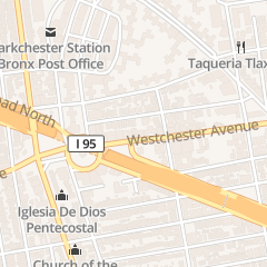 Directions for Subway in Bronx, NY 1957 Westchester Ave