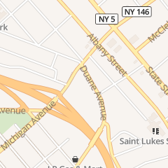 Directions for Jackson Heights Halal Gyro King in Schenectady, NY 416 Duane Ave