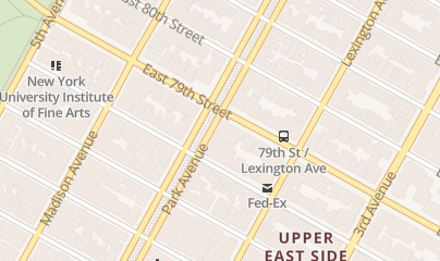 Directions for Cosmetic Dentist in New York, NY 897 Park Avenue