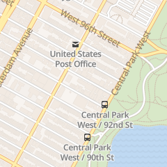 Directions for Westwood House in New York, NY 50 W 93rd St