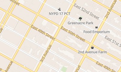 Directions for Zirconia Implants in New York, NY 805 Third Ave, 10th floor