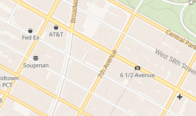 Directions for Letitia James Lawyer Public NY in New York, NY 200 West 57th Street, Suite 1203