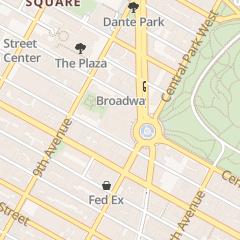 Directions for Enviowash in New York, NY 10 Columbus Cir