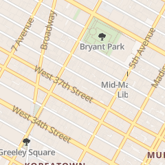 Directions for Studio Elegant in New York, NY 42 W 38th St