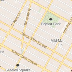Directions for 1010 Sixth Ave Associates llc in New York, NY 66 W 38th St