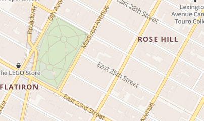 Directions for Midtown OBGYN- Anat Zelmanovich, M.D. in New York, NY 51 East 25th Street, Ste 440