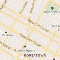 Directions for Cary Larry in New York, NY 1350 Broadway