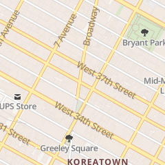 Directions for Cary Kane Llp in New York, NY 1350 Broadway Rm 1400