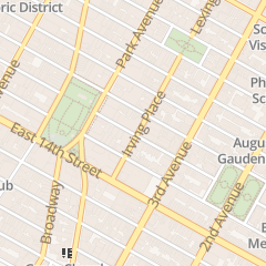 Directions for Quarterly Lapham's in New York, NY 33 Irving Pl FL 8