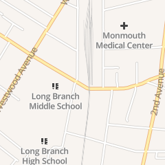 Directions for Family & Children Services in Long Branch, NJ 191 Bath Ave