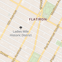Directions for The Studio in New York, NY 135 5th Ave