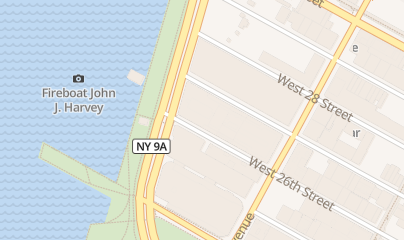 Directions for Truck Repair, Paint & Manufacturing in New York, NY 601 W 26th St