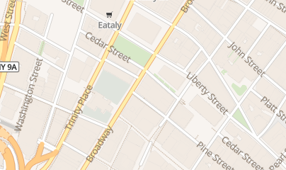 Directions for The Capital Grille in New York, NY 120 Broadway Lbby L8