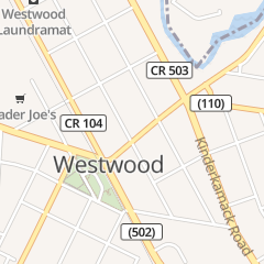 Directions for Hartly Fashions in Westwood, NJ 104 Westwood Ave