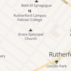 Directions for Grace Episcopal Church in Rutherford, NJ 128 W Passaic Ave