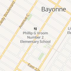 Directions for Kerynia Inc in Bayonne, NJ 5 W 25th St