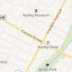 Directions for SHURMINSKY W JR OD in Nutley, NJ 420 Centre St