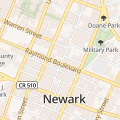 Directions for Millenium Nails in Newark, NJ 141 Halsey St