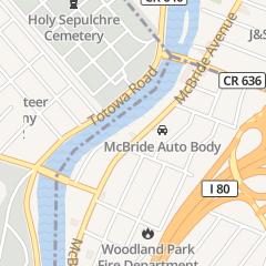 Directions for Francesco's in Woodland Park, NJ 568 McBride Ave
