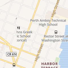 Directions for Inglesia Pentecostal in Perth Amboy, NJ 99 Broad St