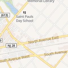 Directions for Westfield Florist Teleflorist in Westfield, NJ
