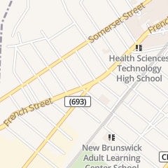 Directions for Dollar Discount in New Brunswick, NJ 167 French St
