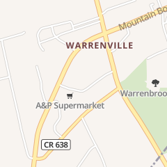 Directions for A & P Food Store in Warren, NJ 177 Washington Valley Rd