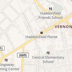 Directions for Villa Rosa in Haddonfield, NJ 1 Kings Hwy E