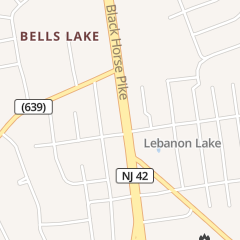 Directions for Nail Bar and Spa in Blackwood, NJ 5101 Route 42 Ste 11