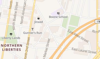 Directions for Vesper Sporting Club - Northen Liberties in Philadelphia, PA 1029 Germantown Ave