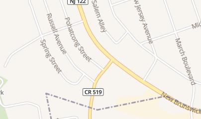 Directions for Bourbon Street Liquors in Phillipsburg, NJ 538 New Brunswick Ave