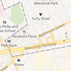Directions for Easton Cardiovascular Associates Pc in Phillipsburg, NJ 96 Baltimore St